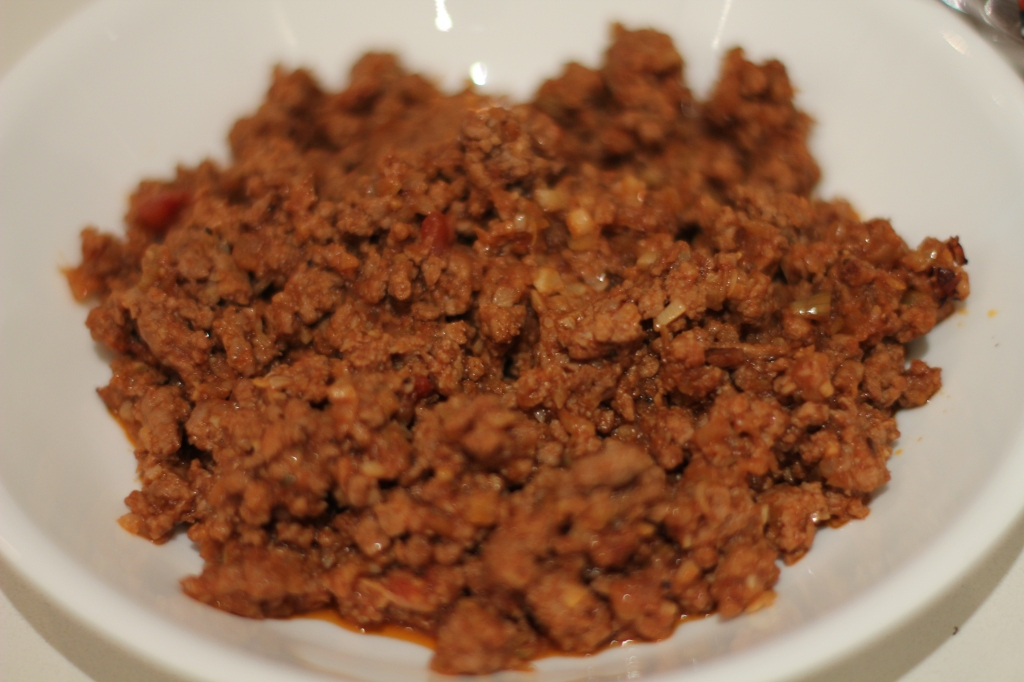Cooked lamb mince