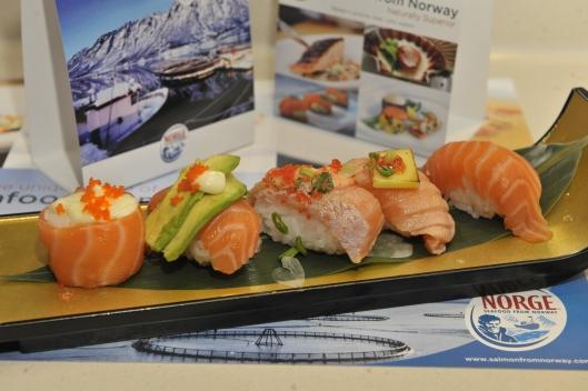 Aurora Salmon Assorted Sushi